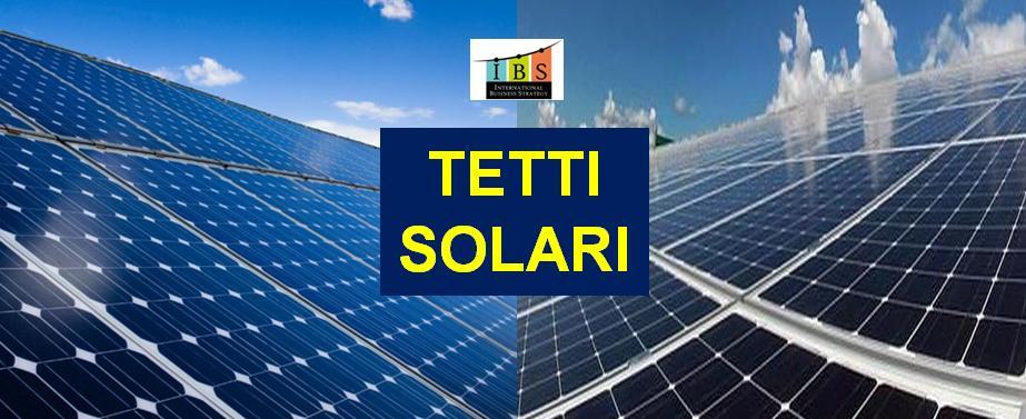 Tetti solari fotovoltaici