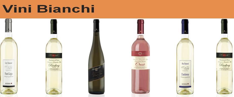 cantina vini bianchi