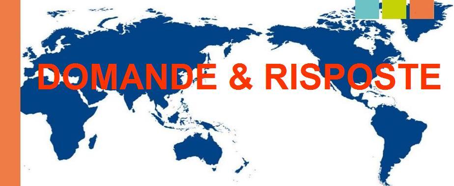 domande e risposte su export e internazionalizzazione