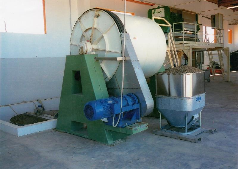 2. secondary crusher - foto impianto polverizzazione -  mills