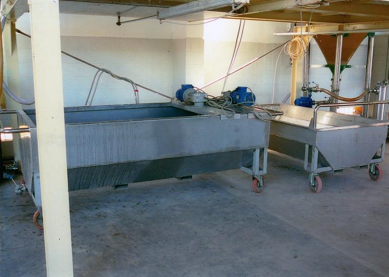 4. foto vasche di decantazione con agitatori