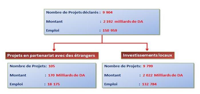 Algeria progetti di investimento partenariati e investimento locale