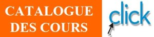 Catalogue des Cours