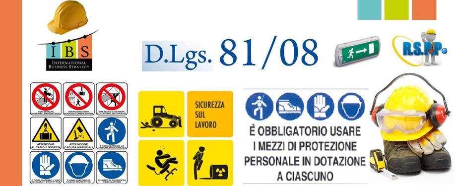 Catalogo Corsi Area Sicurezza sul Lavoro - Rischio basso medio alto - Antincendio Pronto Soccorso RSPP Preposti