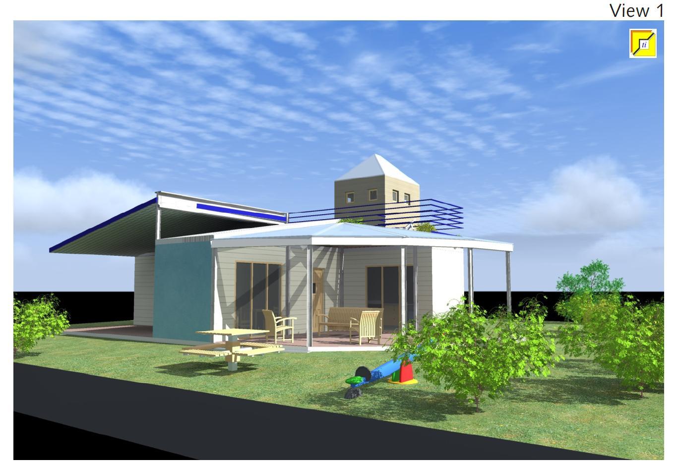 VIEW 1 container ed edilizia ecosostenibile
