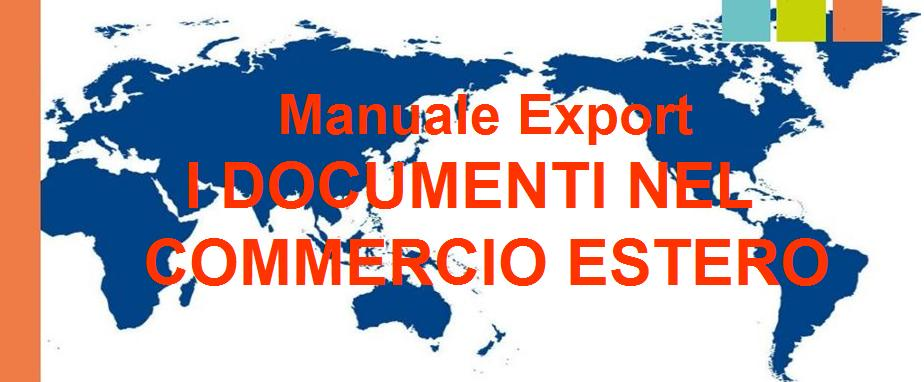 i documenti nel commercio estero per il blog