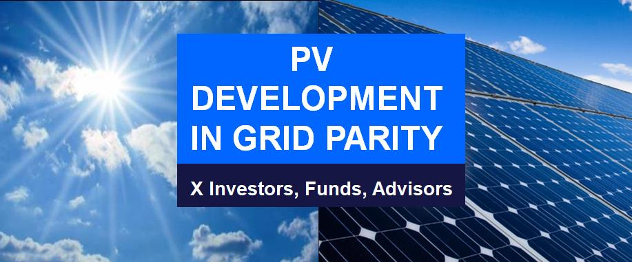 PV photovoltaic development in Grid Parity