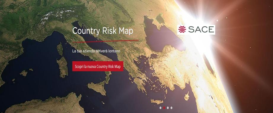 SACE country risk map