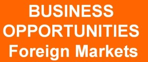 business opportunities foreign markets EN