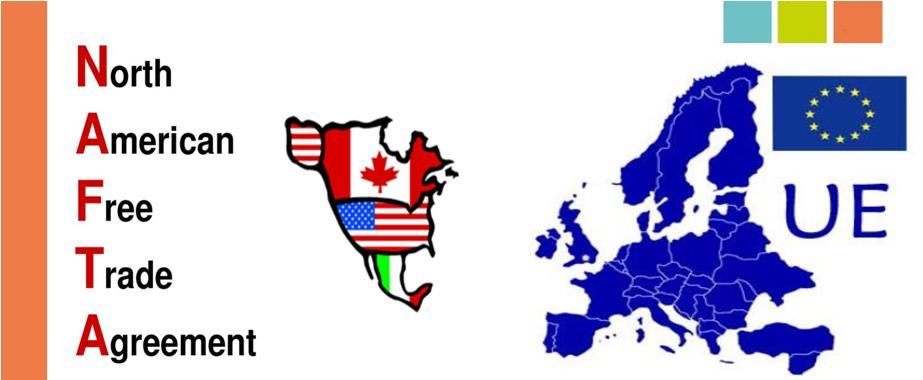 NAFTA e UE Agreement a confronto