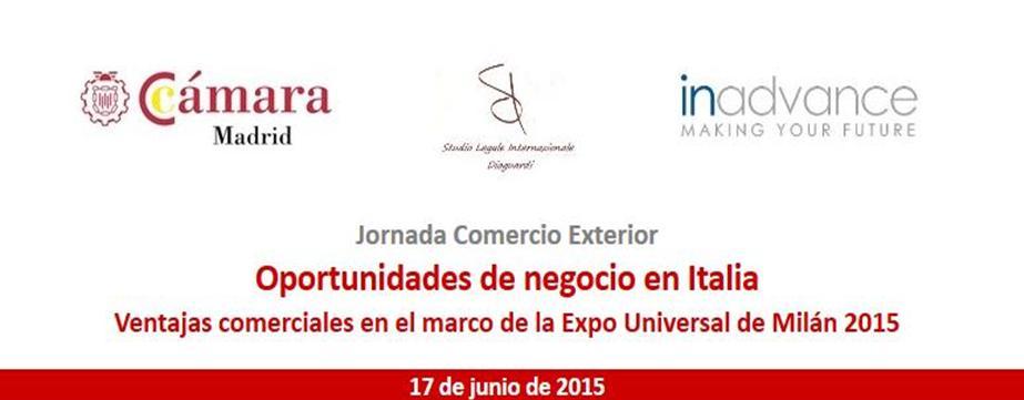 Seminario Evento presso la Camera di Commercio di Madrid patrocinato da ICE - ITA