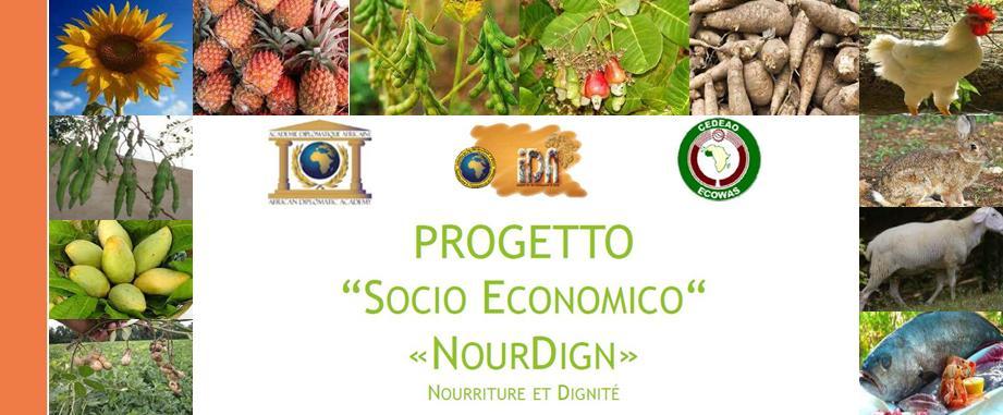 Progetto ECOWAS - CEDEAO e NourDign dignità delle donne in Africa
