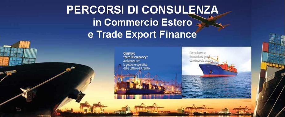 credito consulenza trade export finance