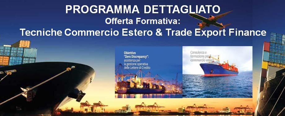 credito corsi trade export finance
