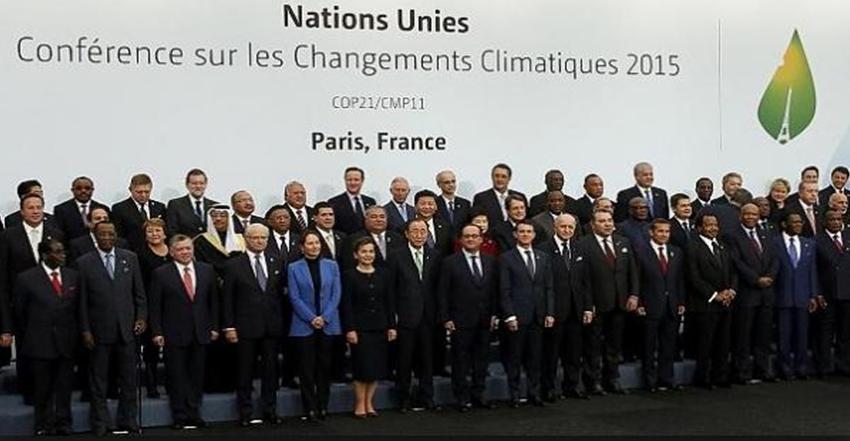 Accordo di Parigi sui cambiamenti climatici