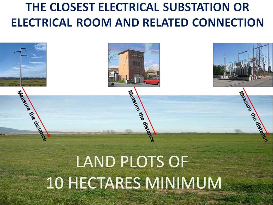 EN Grid Parity closest electrical substation connection