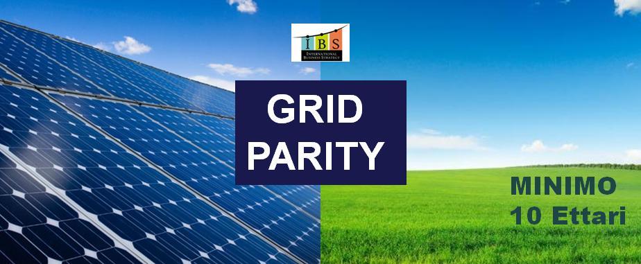 Fotovoltaico Cerchiamo Terreni Grid Parity Minimo 10 Ettari