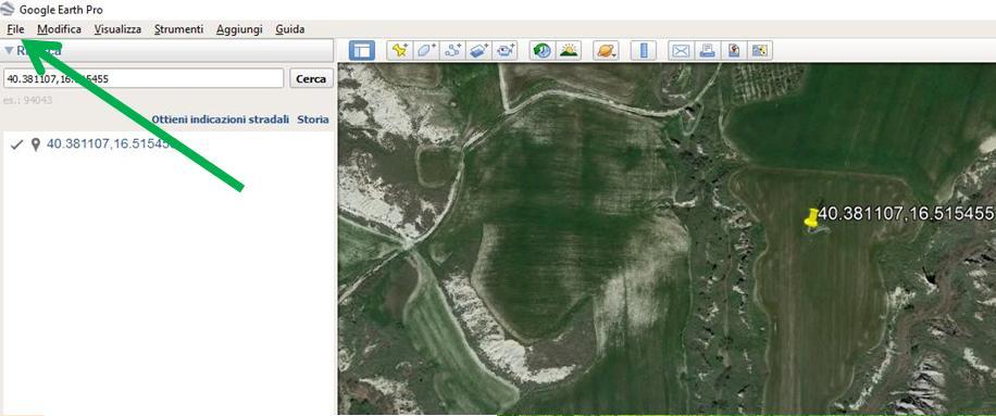 Google Earth salva perimetro