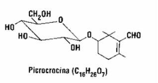 Picrocrocina Formula Chimica
