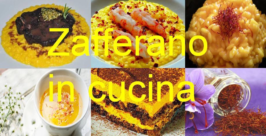 Zafferano Crocus Sativus in cucina