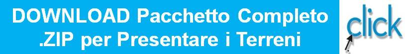 Fotovoltaico Pacchetto ZIP per presentare Terreni