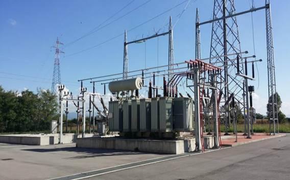 Cabina elettrica alta tensione 1