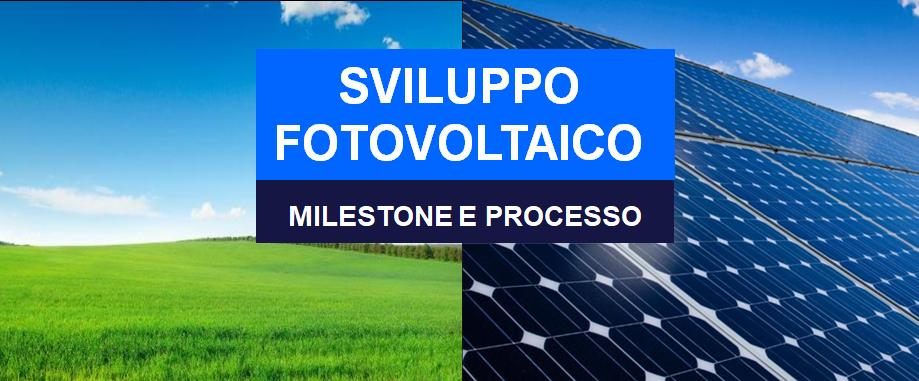 Milestone Fotovoltaico Processo
