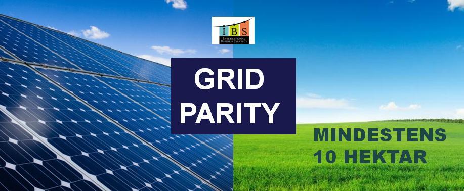 DE Grid Parity Photovoltaikanlagen