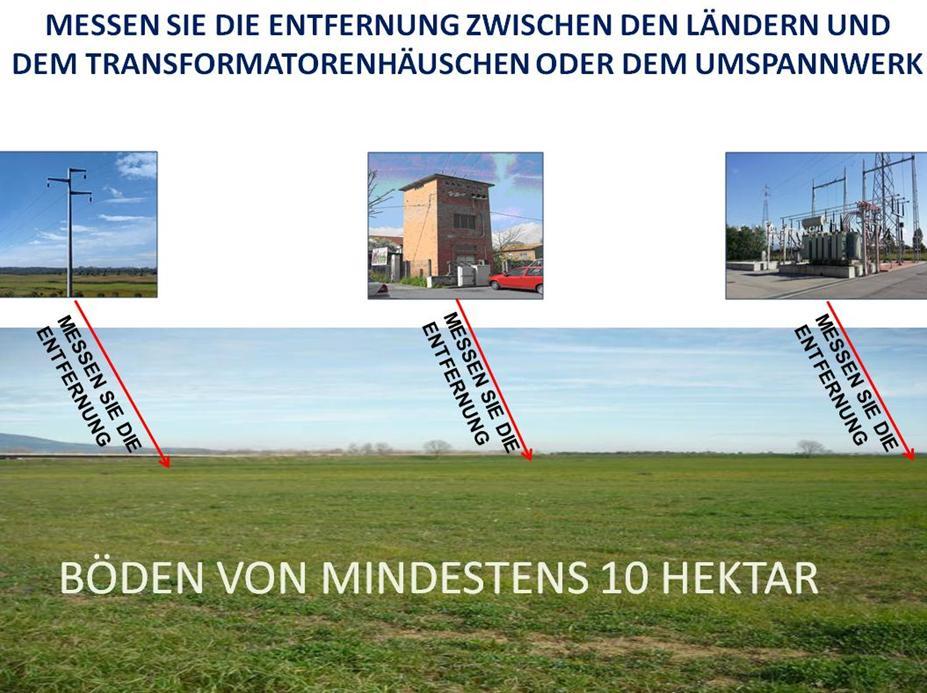 DE böden von mindestens 10 hektar photovoltaikanlagen